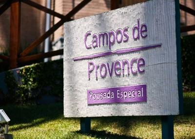 Jardim - Pousada Campos de Provence