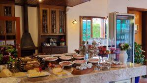 Café da Manhã da Pousada Campos de Provence em Campos do Jordão